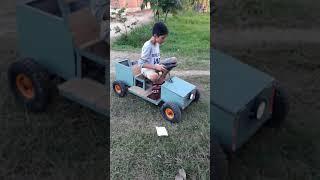Xe điện tự chế cho trẻ em