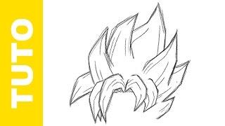 Manga drawing - Comment dessiner goku ...