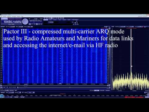 Sounds of HF Radio - Digital Modes and other Unusual Sounds