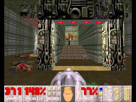 [Walkthrough 100%] Ultimate Doom - E1 - Knee-Deep In The Dead - M3 (Toxin Refinery)