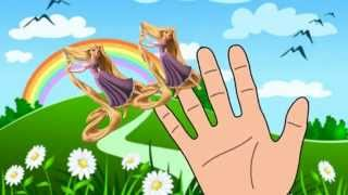 Rapunzel Finger Family 2015 TANGLED Nursery Rhymes for Children and Babies