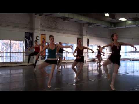 Colorado Ballet's The Nutcracker - Waltz of the Flowers Rehearsal