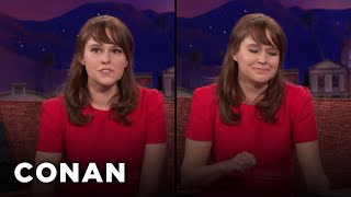 Claudia O'Doherty Is An Unemployed & Versatile Actress  - CONAN on TBS