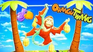 Orangutwang Family Challenge Game Winner Gets a Banana Split!! Game Night!
