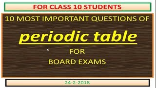 DAILY 5 MOST IMPORTANT QUESTIONS OF  SCIENCE FOR BOARD EXAM