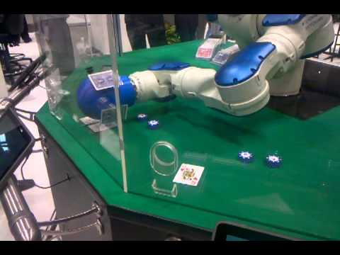 Robot blackjack at automate 2013