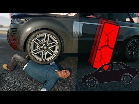 GTA | EPIC FAILS 2.0 | Caidas contra vehiculos a camara lenta | 1