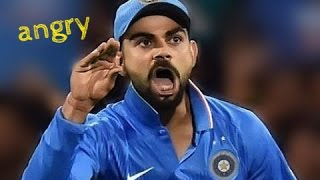 Cricket Angry Moments | Virat Kohli Angry Moment In Cricket
