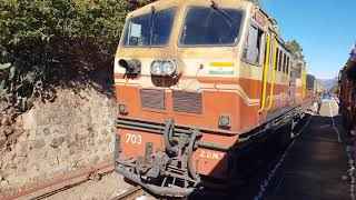 KALKA SHIMLA Toy Train Journey (PART 7), Mountain Railways of India Video in 4k ultra HD