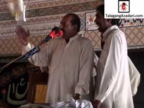 Zakir Mureed Padhrar (7 October 2012 Hussain Mahal Moorat Talagang)