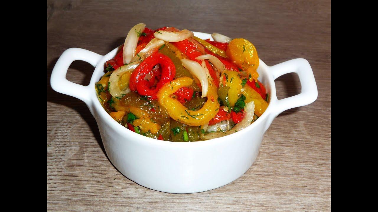 Рецепты из свежего перца