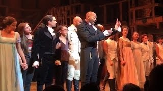 39Hamilton39 stars give Mike Pence a message