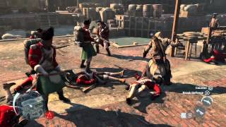 Assassin's Creed 3 -Boston demo commented walkthrough Trailer [UK]