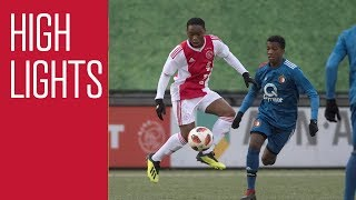 Highlights Ajax O16 - Feyenoord  O16
