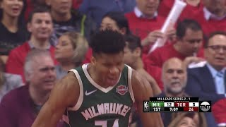 1st Quarter, One Box Video: Toronto Raptors vs. Milwaukee Bucks