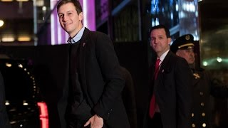 Trump to Name Son-in-Law Kushner as Senior Adviser