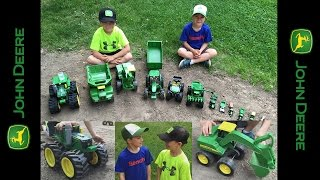 Playing with... John Deere Tractor toys