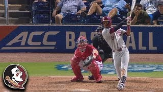 FSU's J.C. Flowers Bashes Solo Homer