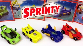 Kinder Surprise Toys Sprinty Spy Cars Series for boys 2014-2015 - SurpriseEggsSHOW