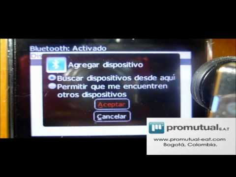 Como conectar manos libres bluetooth a dispositivo BlackBerry 8520. 9300. 9700 y otras