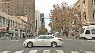 Driving Downtown - Silicon Valley 4K - USA