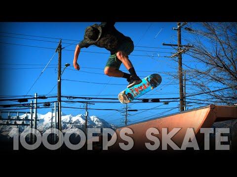 1000FPS SKATE | Nollie Bigspin Lateflip Disaster Revert (Jason Bastian)