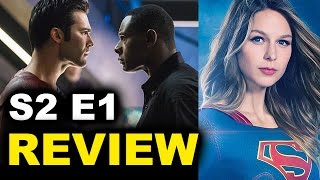 Supergirl Season 2 Episode 1 Review aka Reaction - The Adventures of Supergirl