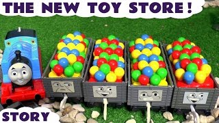 Thomas & Friends Toy Trains Episode The New Toy Store with Emily - Train Toys For Kids ToyTrains4u