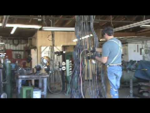 Bending Steel With an Acetylene Torch - Kevin Caron