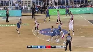 Greece vs Turkey, basketball full game ,highlights ,17 August 1019