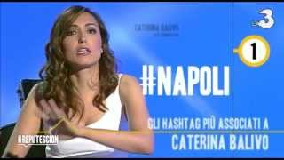 Caterina Balivo da Andrea Scanzi a #Reputescion - Twitter Top 5