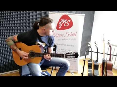 Maciek Papalski- Nauka Gry Na Gitarze W Music School