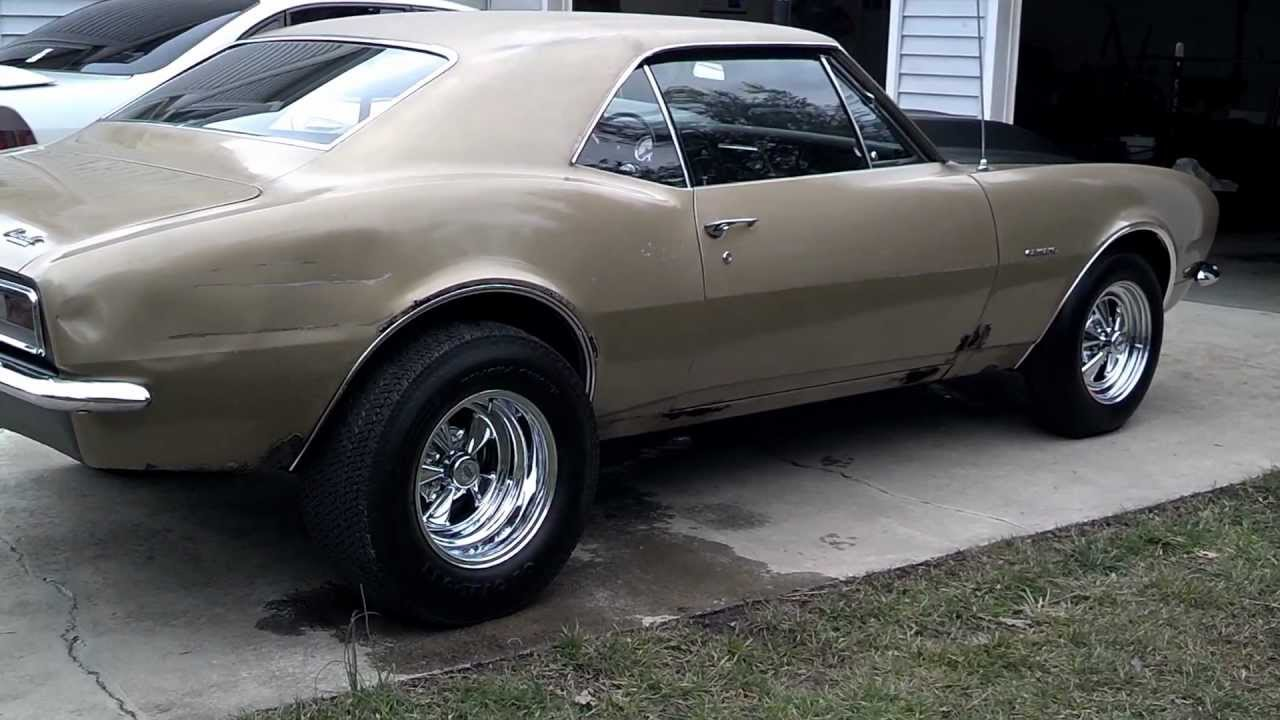 1967 L78 396 Big Block Camaro Youtube
