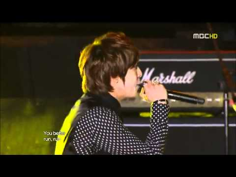 100904 YONGSEO - Run Devil Run + Love light @ 2010 Incheon Korean Music Wave