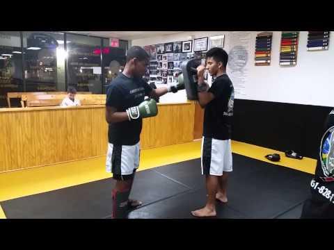 Adult Kick Boxing drill