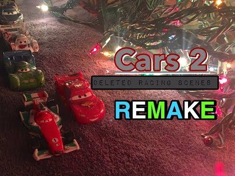 Disney Pixar's Cars 2 Deleted Racing Scenes Remake REMASTERED (STOP MOTION)
