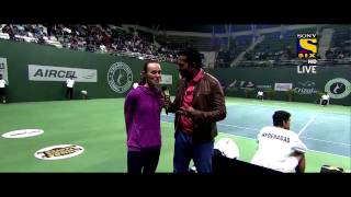 Siddharth Kannan hosting the Champions Tennis League on Sony Six!