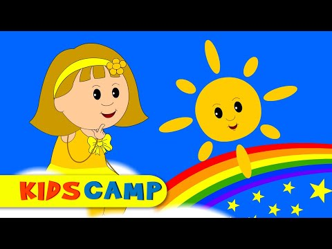 What's in the Sky? The Sky Song for Children | Original Kidscamp Song