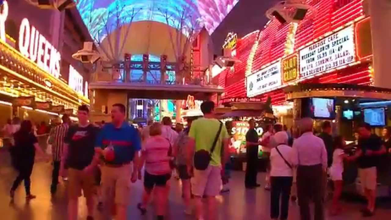 Las Vegas Sin City Spring 2014 Fremont Street