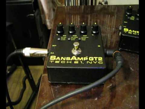 Sansamp GT2 vs Sansamp GT2