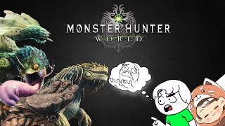 Monster Hunter World: The Funniest Moment - PART 1 - with Ghost