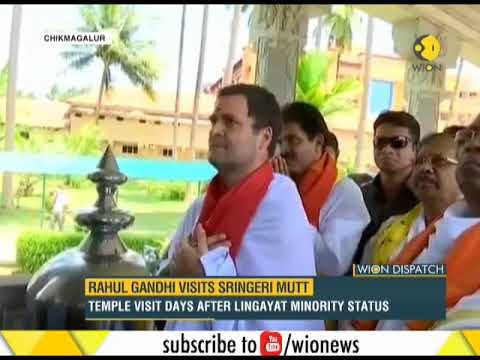 Congress Temple Politics In Karnataka; Rahul Gandhi Visits Chikmagalur