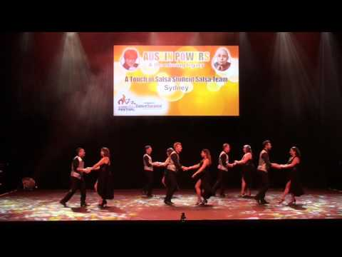 Sydney Latin Festival 2017 - A TOUCH OF SALSA STUDENT TEAM