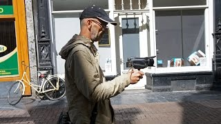 Walking Amsterdam ( behind the scenes)