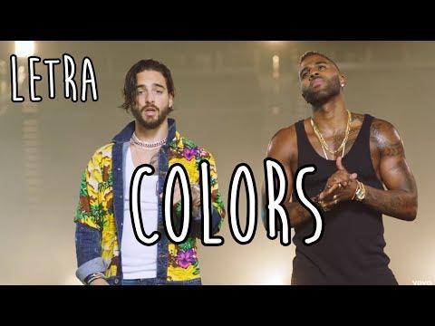 COLORS (LETRA/LYRICS) l MALUMA Y JASON DERULO MP3