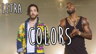 Colors Letra L Maluma Y Jason Derulo