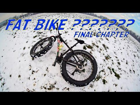 Fat Bike! Przebudzenie Mocy! ROWER NA ŚNIEG