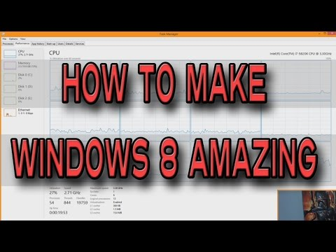 How To Make Windows 8 / 8.1 Awesome (Optimize for GAMING)
