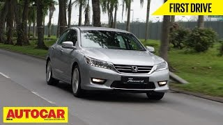 2015 Honda Accord   Exclusive First Drive Video Review   Autocar India