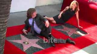 FELICITY HUFFMAN & WILLIAM H. MACY Stars in Hollywood